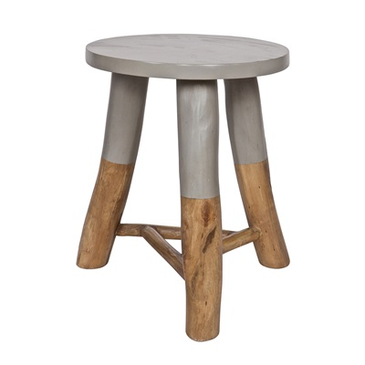 DINAND STOOL in Grey