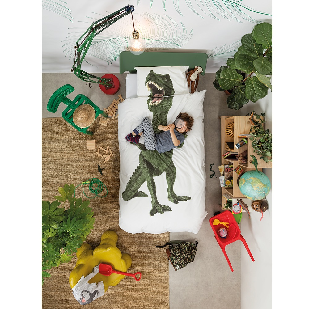 Snurk Kids Dinosaur Duvet Bed Set