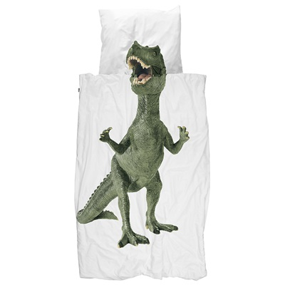 SNURK Childrens Dinosaur Duvet Bedding Set