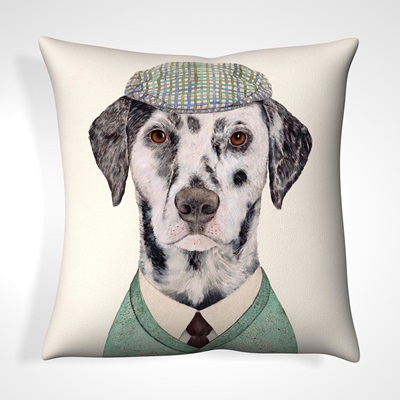 CUSHION in Dapper Dog Design