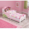 Toddler Dollhouse Bed in Pink