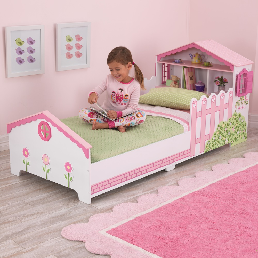 dream bed raw with sleigh storage drawer w toddler me on