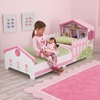 Toddler Bed in Dollhouse Theme