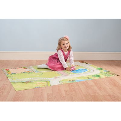 LE TOY VAN GIANT DOLL'S HOUSE PLAYMAT 100cm x 150cm