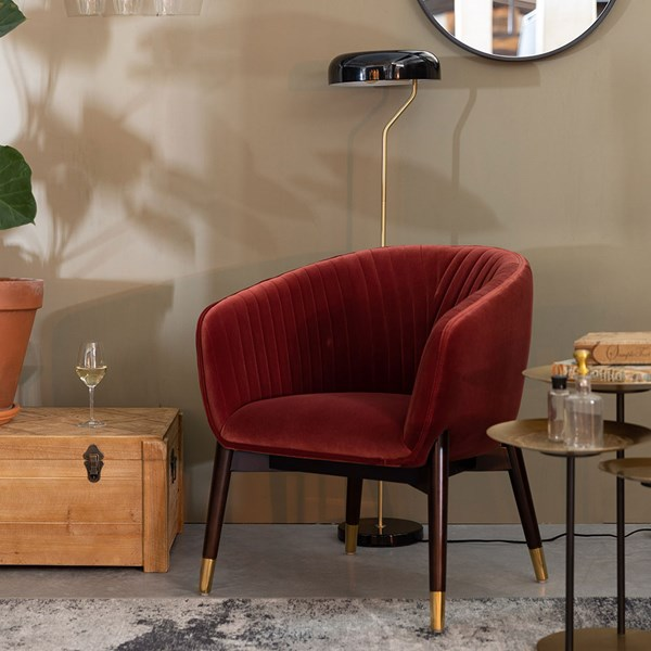 Luxury Upholstered Chair from Dutchbone