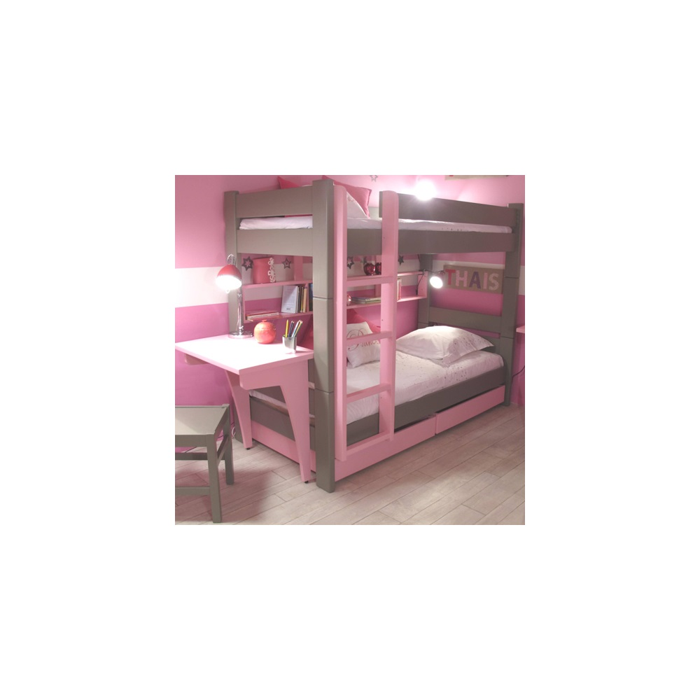 Kids Bunk Bed Drawers Amp Desk