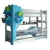 Funky Kids Bunk Bed in White and Blue