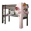 Cool Kids Loft Bed With Space Saving Desk and Storage