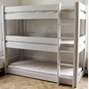 Unique White Kids High Sleeper Bunk Bed