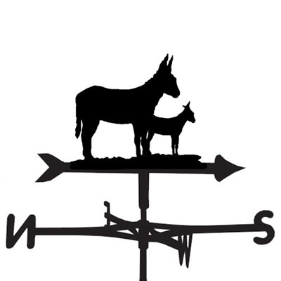 WEATHERVANE in Donkey Design