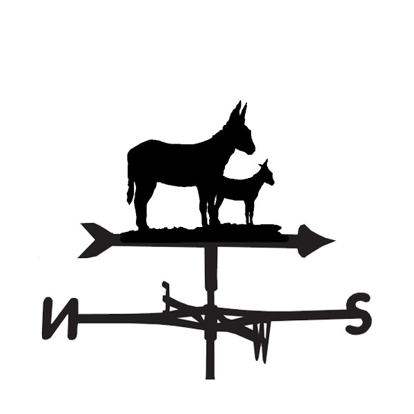 Donkey Weathervanes