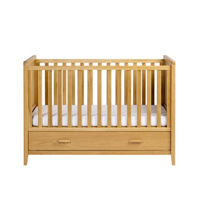 EAST COAST NURSERY DORSET OAK COT BED