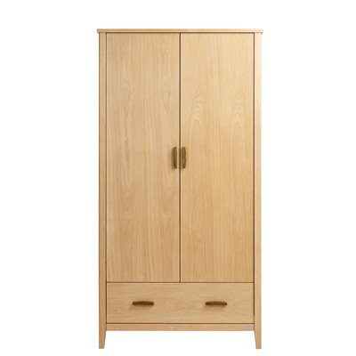 EAST COAST NURSERY DORSET OAK DOUBLE WARDROBE