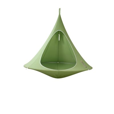 DOUBLE HANGING CACOON in Leaf Green