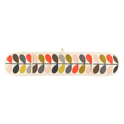 ORLA KIELY DOUBLE OVEN GLOVES in Multi Stem Print