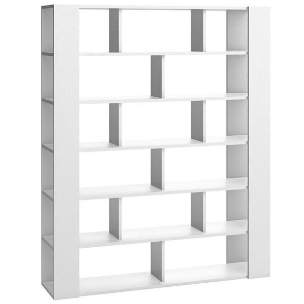 Modern Bookcase in White from Vox