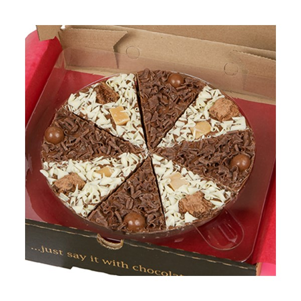Double Delight Chocolate Pizza Gift