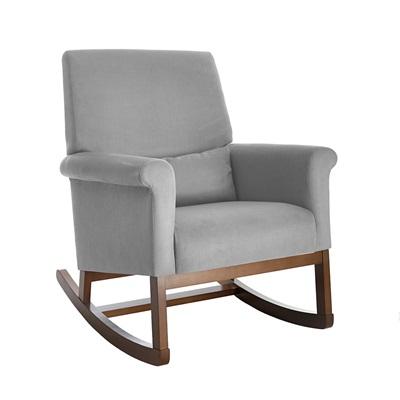 olli ella ro ki rocker nursery chair in dove grey - nursing chairs | c