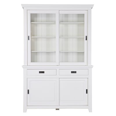 PERPIGNAN DISPLAY CABINET in White