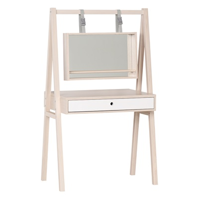 SPOT DRESSING TABLE WITH MIRROR in Acacia