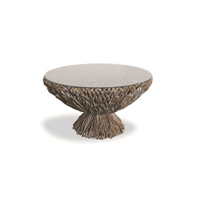 DRIFTWOOD ROUND COFFEE TABLE