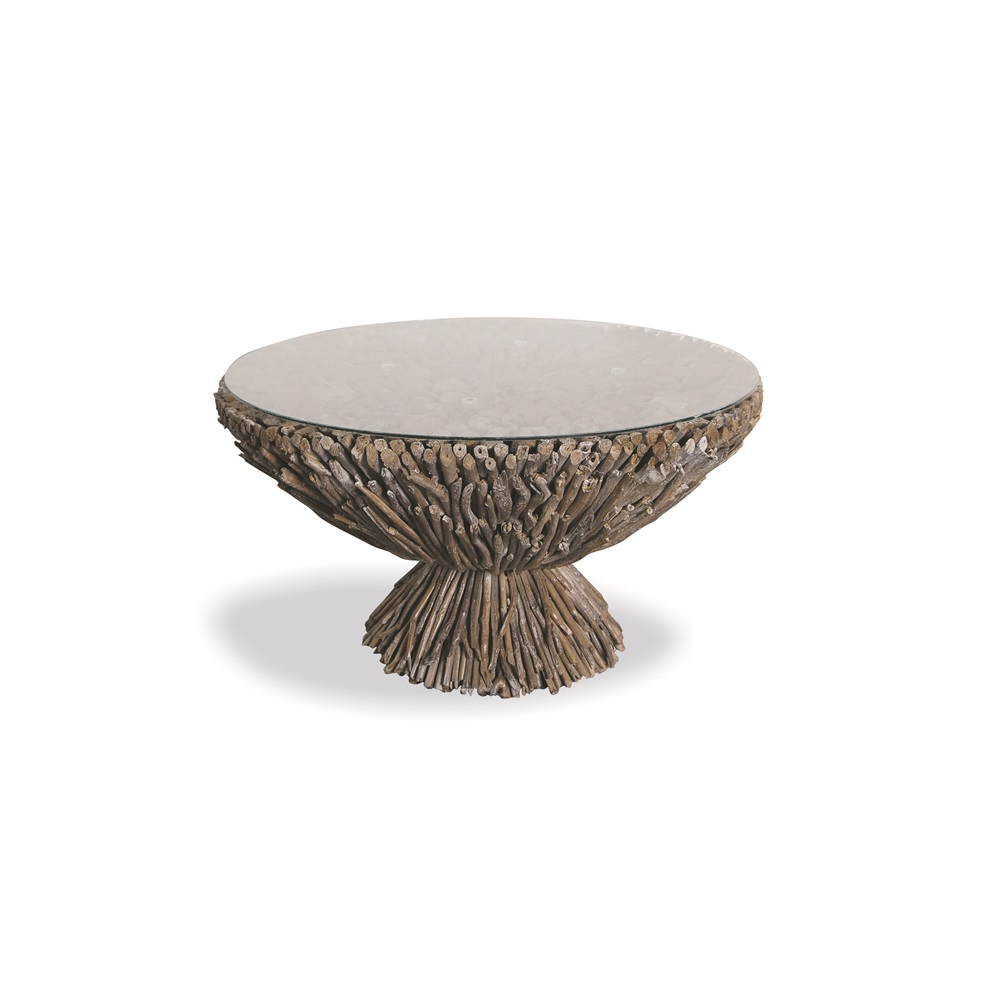 Driftwood Round Coffee Table Bluebone Cuckooland