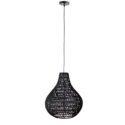 ZUIVER PENDANT CEILING LIGHT in Twisted Paper