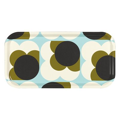 ORLA KIELY TEA TRAY in Big Spot Shadow Flower Print
