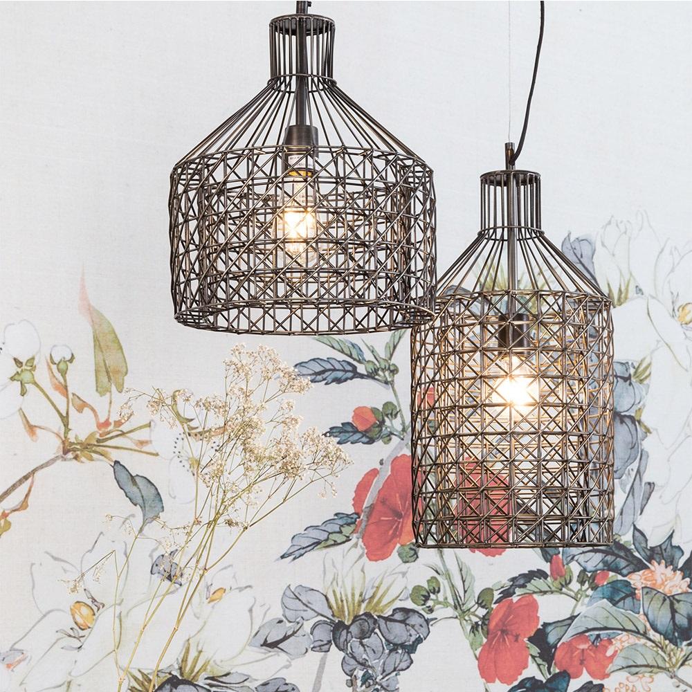 Unique ceiling lights lighting cuckooland dutchbone jim geometric pendant light mozeypictures Image collections