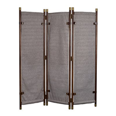 DUTCHBONE RIVA ROOM DIVIDER with Herringbone Design Panels