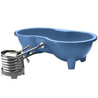 DUTCHTUB® LOVE SEAT HOT TUB in Blue
