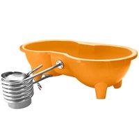 DUTCHTUB® LOVE SEAT HOT TUB in Orange