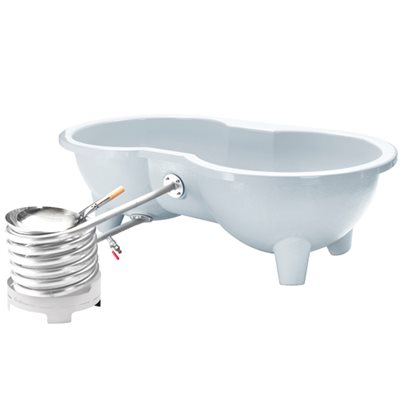 DUTCHTUB® LOVE SEAT HOT TUB in White