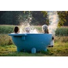 Unique Blue Jacuzzi Hot Tub