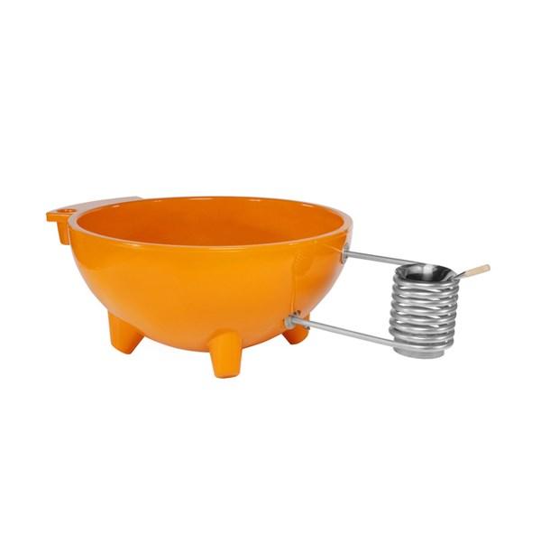Dutch Tub Eco Friendly Hot Tub in Orange