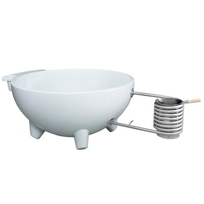 DUTCHTUB® ORIGINAL HOT TUB in Dawn White