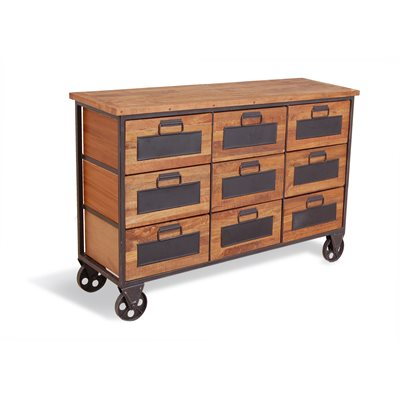 9 DRAWER APOTHECARY CHEST in Re-engineered Design