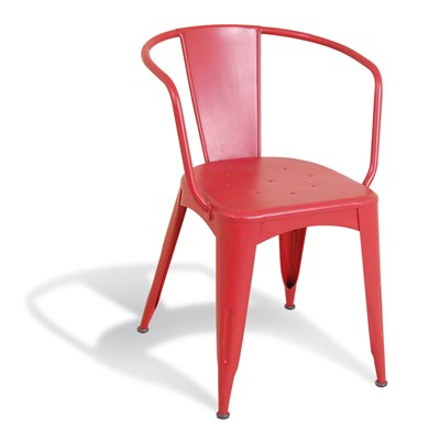 Industrial Red Navy Chair In ReEngineered Design Dining Chairs Cu