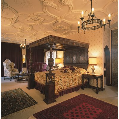 EXPERIENCE Gourmet One Night Stay at Thornbury Castle for 2