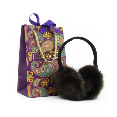 CHAMONIX Faux Fur Earmuffs in Mink