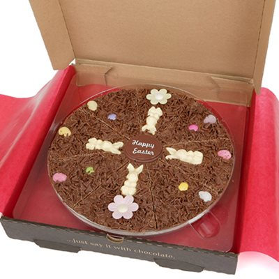 "10"" EASTER PIZZA by The Gourmet Chocolate Pizza Company"