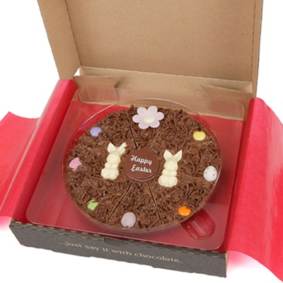 "7"" EASTER PIZZA by The Gourmet Chocolate Pizza Company"