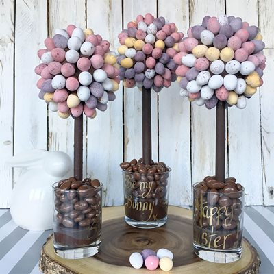 PERSONALISED CADBURYS MINI EGG CHOCOLATE SWEET TREE