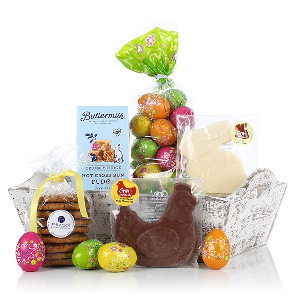 Virginia Hayward Easter Basket Luxury Gift Hamper