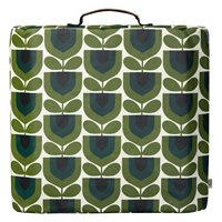 Orla Kiely Striped Tulip Garden Kneeler in Pine Green