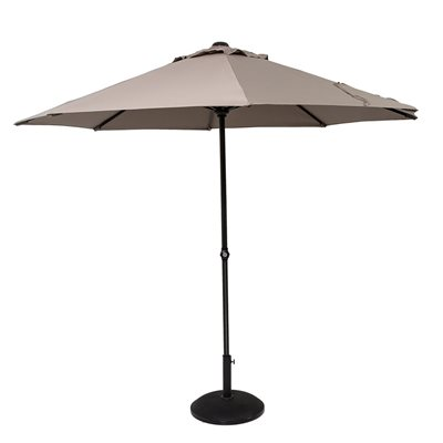 EASY UP ALUMINIUM PARASOL in Taupe