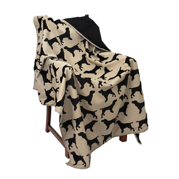 Spaniel Animal Print Throw
