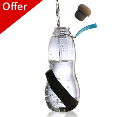 EAU GOOD WATER BOTTLE (Blue Tag) with Recharge by Black + Blum