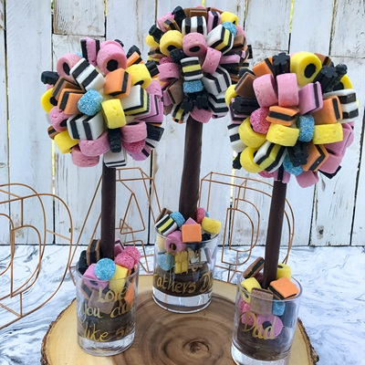 PERSONALISED LIQUORICE ALLSORTS CHOCOLATE SWEET TREE