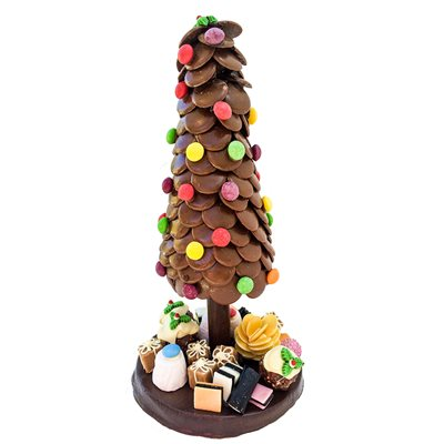 EDIBLE CHRISTMAS TREE WITH SWEETIE PRESENTS